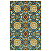 This item: Global Inspirations Turquoise Hand-Tufted 9Ft. x 12Ft. Rectangle Rug