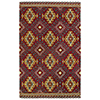 This item: Global Inspirations Red Hand-Tufted 9Ft. x 12Ft. Rectangle Rug