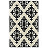 This item: Evolution Black Hand Tufted 9Ft. 9In Square Rug