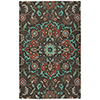 This item: Zocalo Chocolate Hand-Tufted 5Ft. x 7Ft. Rectangle Rug