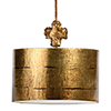 This item: Fragment Gold Leaf One-Light Pendant