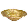 This item: Beauvoir Gold and Silver Leaf Decorative Bowl