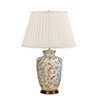 This item: Gold Birds and Berries Cream and Gold One-Light Table Lamp