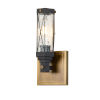 This item: Abbey Antique Brass One-Light Wall Sconce