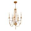 This item: Mosaic Antique Gold Five-Light Chandelier