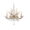 This item: Alsace Silver with Antique Glaze 12-Light Chandelier