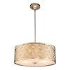 This item: Arabella Antique Silver Three-Light Pendant