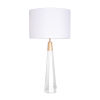 This item: Monroe Brushed Brass One-Light Table Lamp