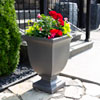 This item: Augusta Graphite Grey 26-Inch Tall Planter