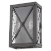 This item: Brooklyn Oil Rubbed Bronze Two-Light Outdoor Wall Mount