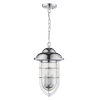 This item: Dylan Chrome Three-Light Outdoor Hanging Pendant