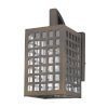 This item: Letzel Oil Rubbed Bronze One-Light Outdoor Wall Mount