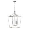 This item: Kennedy Satin Nickel Six-Light Chandelier