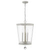This item: Callie Country White Three-Light Pendant