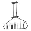 This item: Luca Matte Black 14-Light Pendant