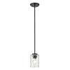 This item: Livvy Matte Black One-Light Mini Pendant