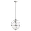 This item: Kassian Satin Nickel One-Light Pendant