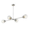 This item: Portsmith Polished Nickel Four-Light Pendant