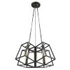 This item: Tiberton Oil Rubbed Bronze Five-Light Chandelier
