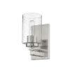 This item: Orella Satin Nickel One-Light Bath Vanity