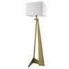 This item: Stratos Aged Brass One-Light Floor Lamp