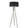 This item: Sangallo Satin Nickel One-Light Floor Lamp