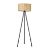 This item: Lisbon Matte Black One-Light Floor Lamp