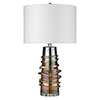 This item: Trend Home Polished Nickel 16-Inch One-Light Table Lamp