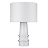 This item: Trend Home White 17-Inch One-Light Table Lamp