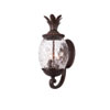 This item: Lanai Black Coral Three-Light 21.75-Inch Outdoor Wall Mount