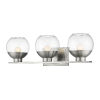 This item: Osono Brushed Nickel Three-Light LED Bath Vanity