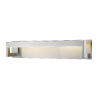 This item: Linc Brushed Nickel 26-Inch LED Bath Vanity with Frosted Glass