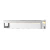 This item: Linc Chrome 26-Inch LED Bath Vanity with Frosted Glass