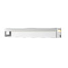 This item: Linc Chrome 37-Inch LED Bath Vanity with Frosted Glass