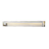 This item: Linc Brushed Nickel 48-Inch LED Bath Vanity with Frosted Glass
