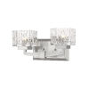 This item: Rubicon Brushed Nickel Two-Light LED Bath Vanity