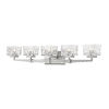 This item: Rubicon Brushed Nickel Five-Light LED Bath Vanity