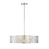 This item: Brushed Nickel Five-Light Pendant