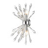 This item: Soleia Chrome Four-Light Bath Sconce