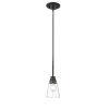 This item: Annora Matte Black One-Light Mini Pendant