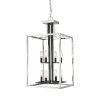 This item: Quadra Brushed Nickel and Black Eight-Light Chandelier