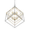 This item: Euclid Olde Brass and Bronze 10-Light Chandelier