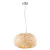 This item: Sora Brushed Nickel Five-Light Pendant