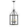 This item: Kirkland Ashen Barnboard 16-Inch Five-Light Pendant