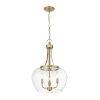 This item: Joliet Olde Brass Three-Light Pendant