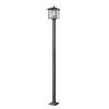 This item: Aspen Black One-Light Outdoor Post Mount
