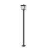This item: Aspen Oil Rubbed Bronze One-Light Outdoor Post Mount