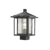 This item: Aspen Black 13-Inch One-Light Outdoor Post Mount