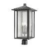 This item: Aspen Black 22-Inch Three-Light Outdoor Post Mount
