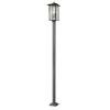 This item: Aspen Black 117-Inch Three-Light Outdoor Post Mount